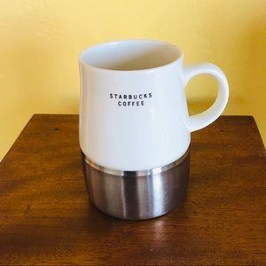 2004 STARBUCKS Stainless Steel Bottom Travel Mug